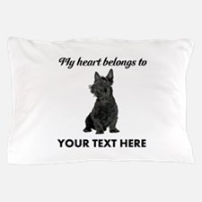 Personalized Scottish Terrier Pillow Case
