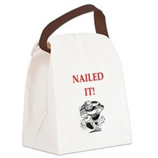 rugby joke Canvas Lunch Bag