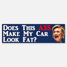 Does This Ass... Bumper Car Car Sticker