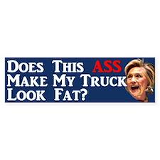 Does This Ass... Bumper Bumper Bumper Sticker