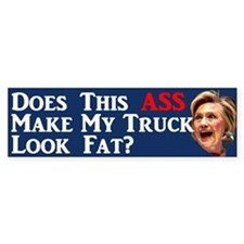 Does This Ass... Bumper Bumper Sticker