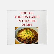 rodeos Throw Blanket