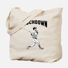 Home run Touchdown Tote Bag