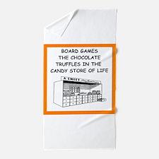 board game joke Beach Towel