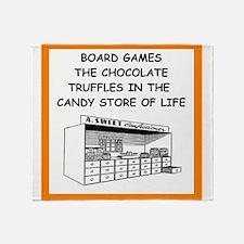 board game joke Throw Blanket