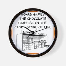 board game joke Wall Clock