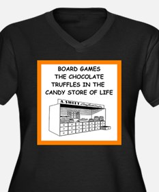 board game joke Plus Size T-Shirt