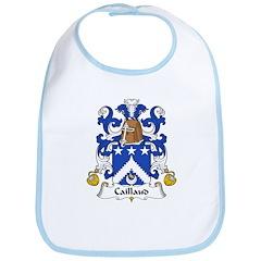 Caillaud Family Crest Bib