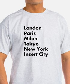 Insert City T-Shirt