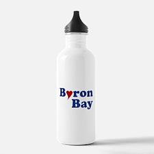 Byron Bay with Heart Water Bottle