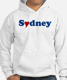 Sydney with Heart Hoodie