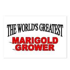 """""""The World's Greatest Marigold Grower"""" Postcards ("""