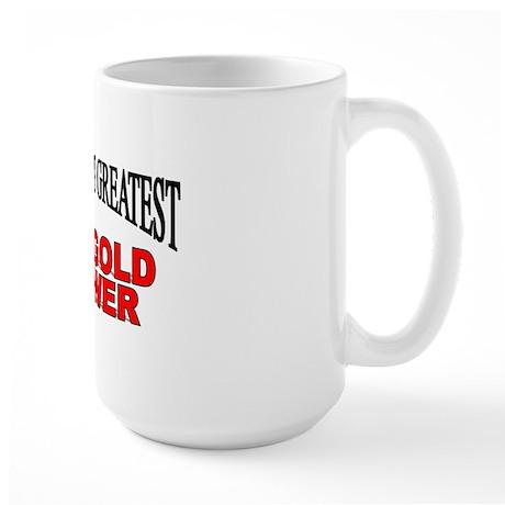 """""""The World's Greatest Marigold Grower"""" Large Mug"""