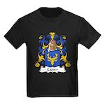 Cadier Family Crest Kids Dark T-Shirt