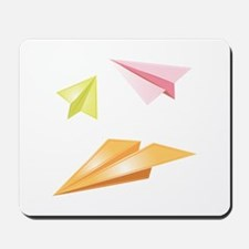 Paper Airplanes Mousepad