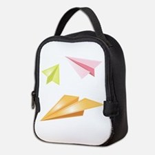Paper Airplanes Neoprene Lunch Bag