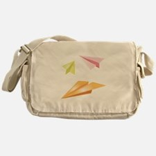 Paper Airplanes Messenger Bag