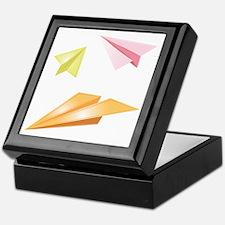 Paper Airplanes Keepsake Box