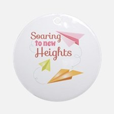 New Heights Ornament (Round)