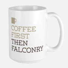 Coffee Then Falconry Mugs