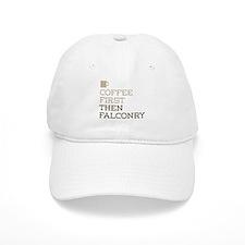 Coffee Then Falconry Baseball Cap