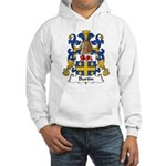 Burtin Family Crest Hooded Sweatshirt