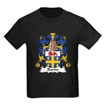 Burtin Family Crest Kids Dark T-Shirt