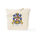 Burtin Family Crest Tote Bag