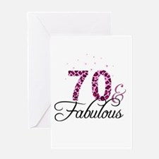 70 and Fabulous Greeting Cards