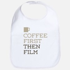 Coffee Then Film Bib