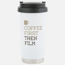 Coffee Then Film Stainless Steel Travel Mug