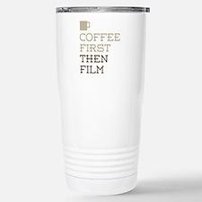 Coffee Then Film Travel Mug