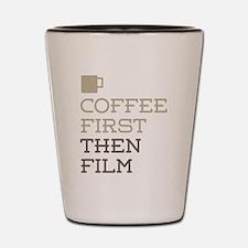 Coffee Then Film Shot Glass