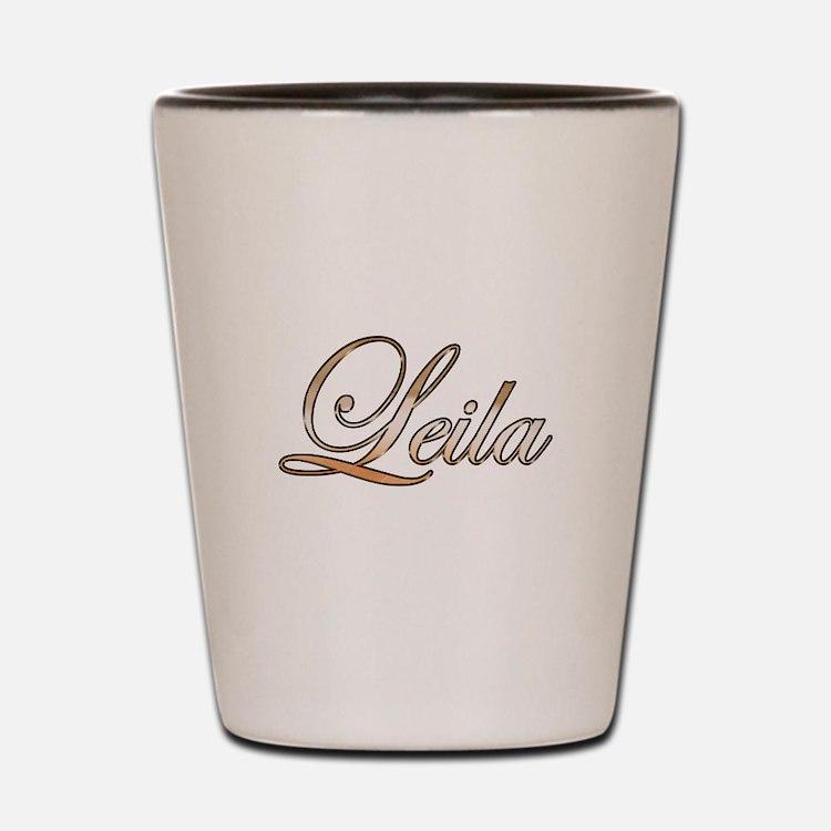 Gold Leila Shot Glass