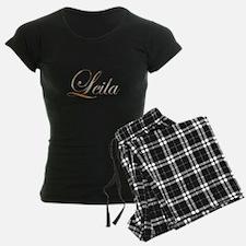 Gold Leila Pajamas