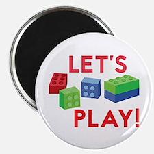 Lego Blocks Magnets