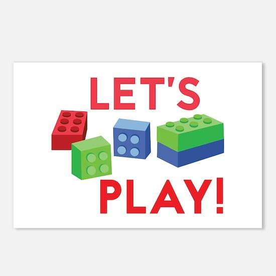 Lego Blocks Postcards (Package of 8)