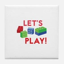 Lego Blocks Tile Coaster