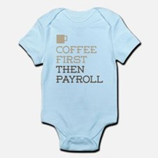 Coffee Then Payroll Body Suit