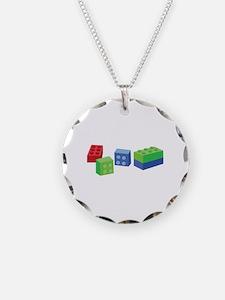 Building Blocks Necklace