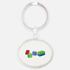 Building Blocks Keychains