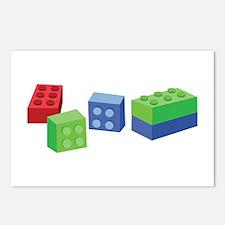 Building Blocks Postcards (Package of 8)
