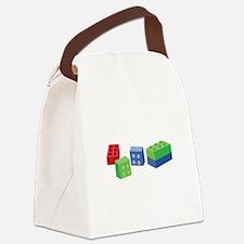 Building Blocks Canvas Lunch Bag