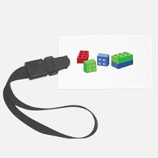 Building Blocks Luggage Tag