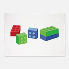 Building Blocks 5'x7'Area Rug