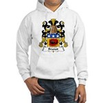 Brunot Family Crest Hooded Sweatshirt