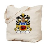 Brunot Family Crest Tote Bag