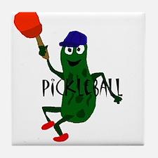 Pickleball Pickle Tile Coaster