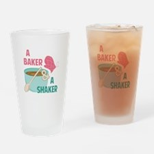 Baker N Shaker Drinking Glass