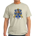 Brune Family Crest Light T-Shirt